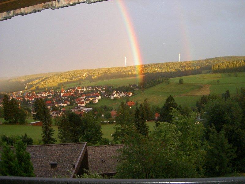 Vista desde el balcón Schonach