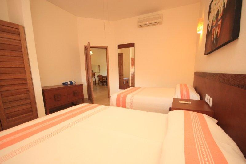 2nd room two queen beds