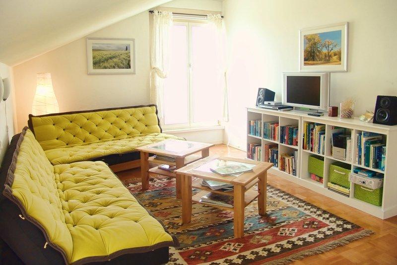 Lägenhet Uckerseen - Living room