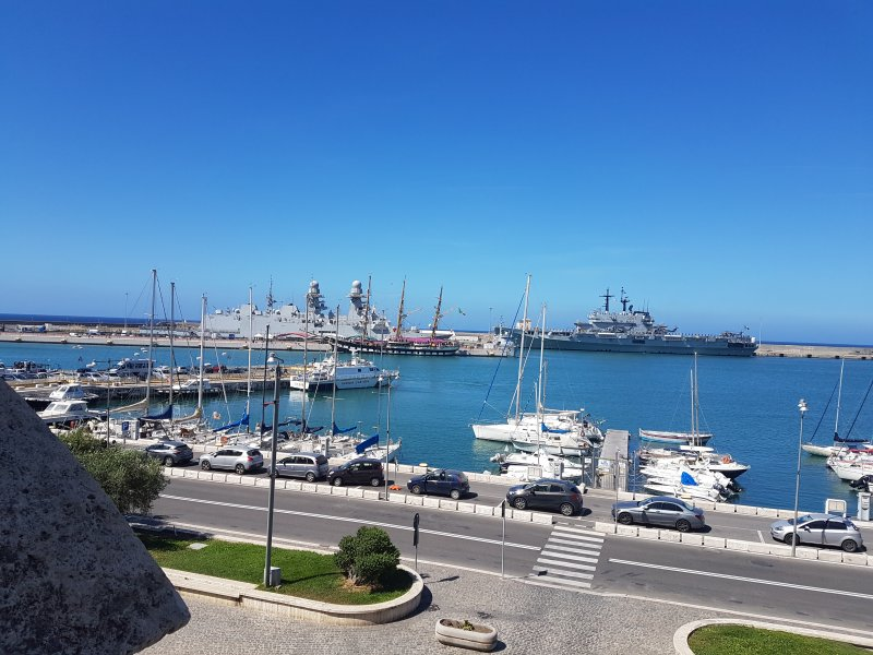 The port on the doorstep.