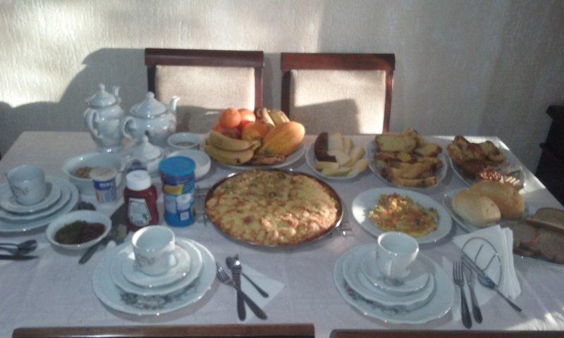 Mahlzeiten und Frühstück Prüfwerte.