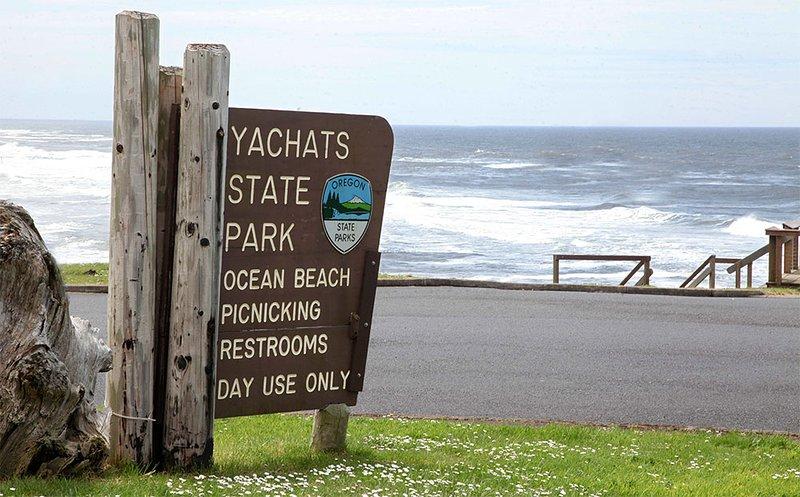 Juste une courte promenade à l'un des plus beaux parcs d'État des côtes de l'Oregon
