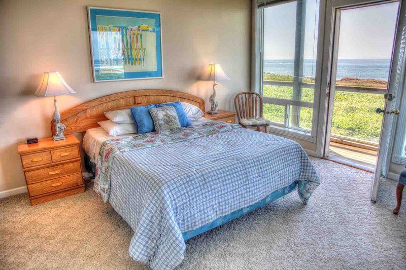 Enjoy ocean views from all 3 bedrooms