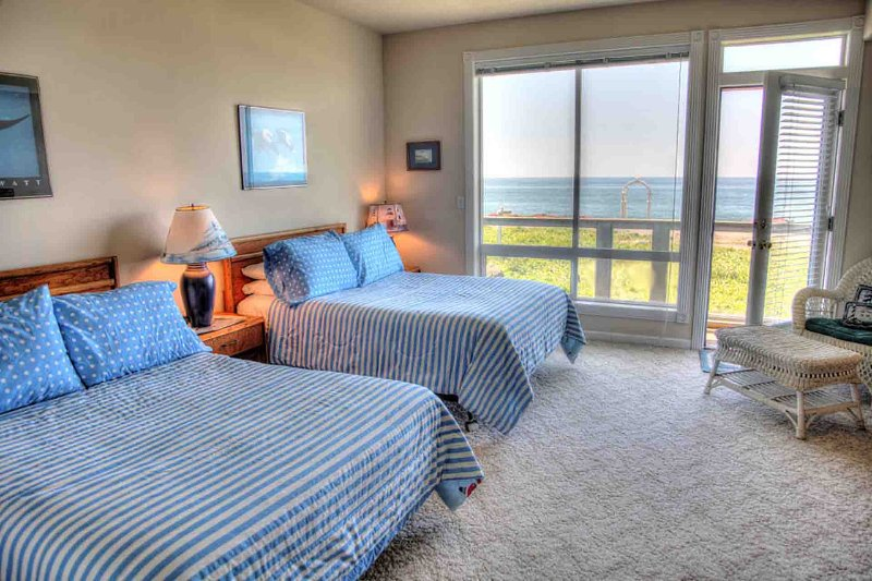 The ocean views from all  bedrooms in the Home