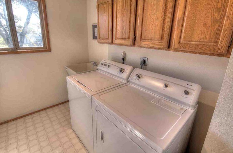 Laundry facilities for your convenience.