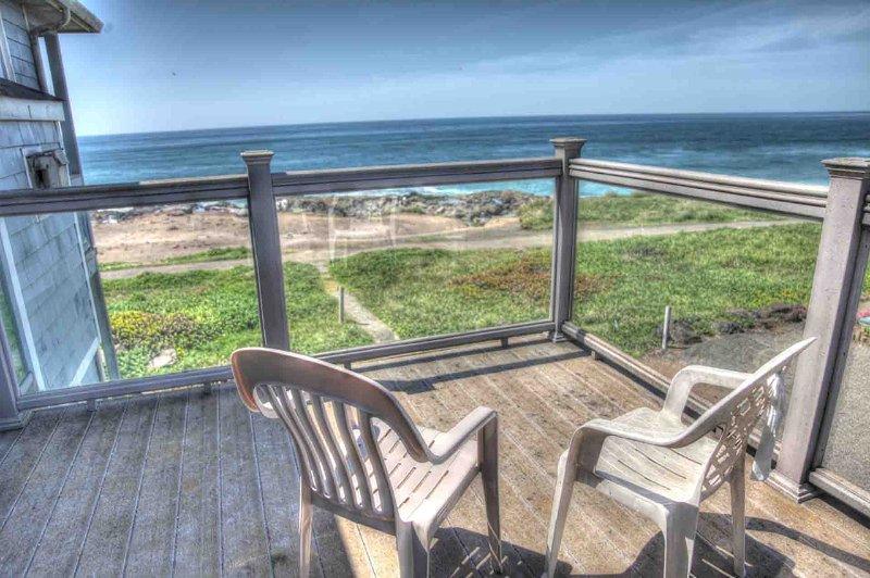Second floor Deck with Ocean Front View