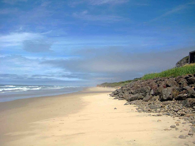 Walk miles of sandy beach from the private access .