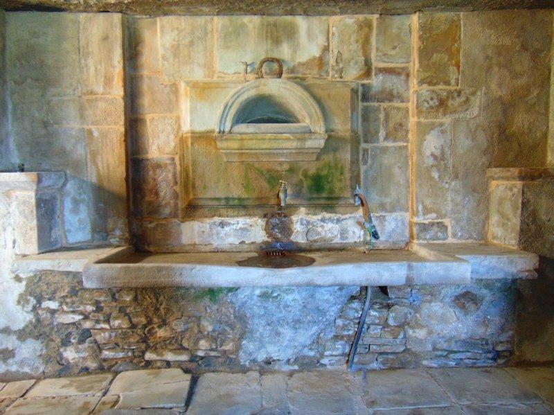 Roman sink.