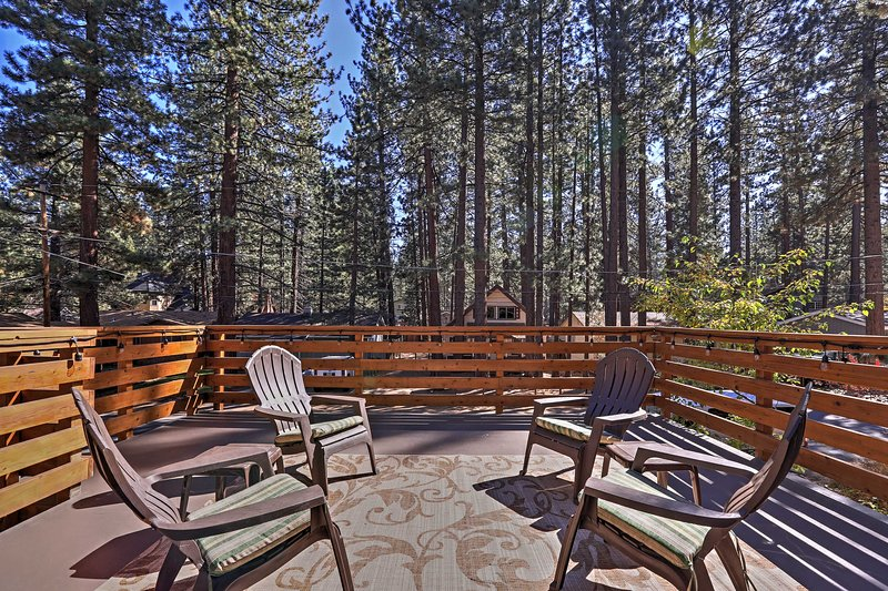 Escape to this beautiful 4-bedroom, 2-bathroom vacation rental house in South Lake Tahoe that's only minutes from Heavenly Ski Resort!