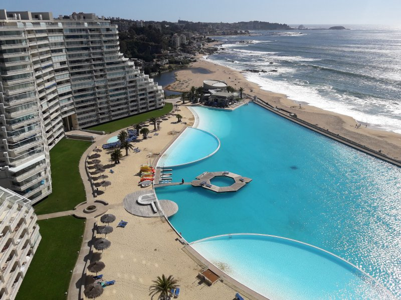 San Alfonso Del Mar Updated 2019 Prices Condominium >> San Alfonso Del Mar Departamentos Has Patio And Balcony