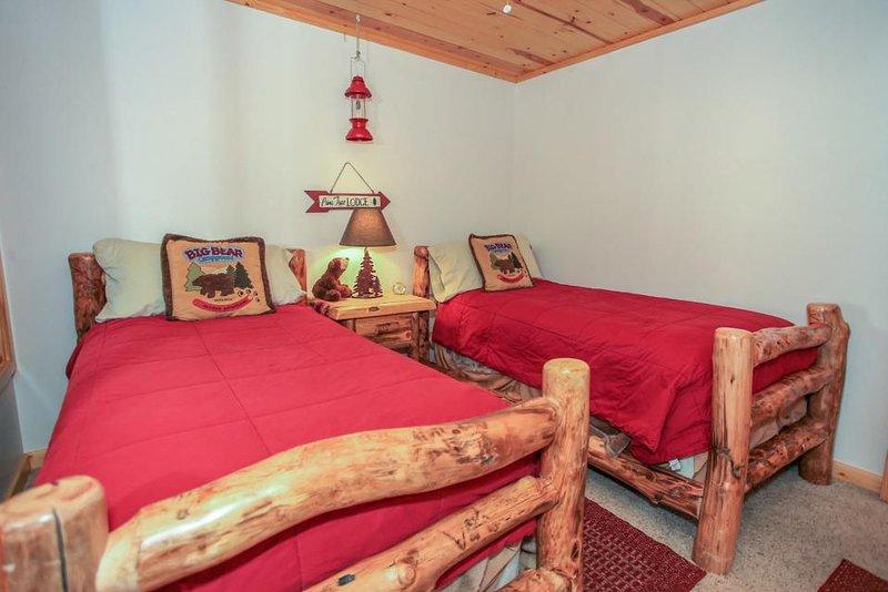 Chambre Ours - 2 lits jumeaux