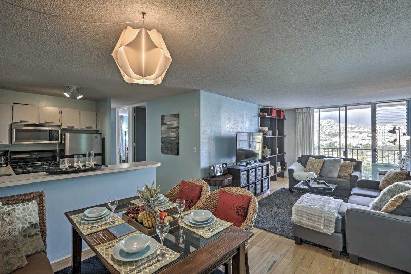 Você vai se sentir em casa neste condomínio Honolulu aconchegante!