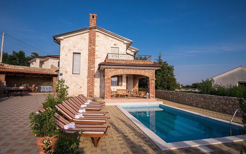 Belle villa de cinq étoiles à Krk