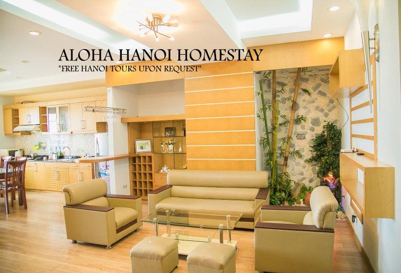 Aloha Hanoi Homestay 12A, alquiler vacacional en Hanói