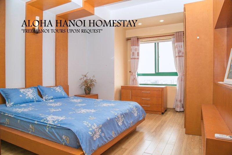 Habitación 1 - SLEEP - La habitación tiene una cama extra grande y puede alojar cómodamente se proporcionan dos people.Towels