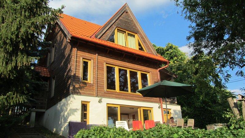 Wooden Beauty, casa vacanza a Leanyfalu