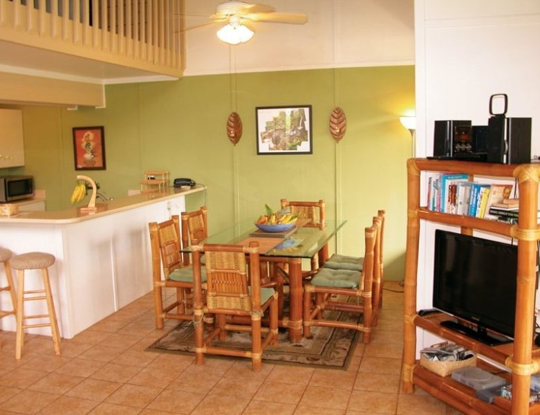 This 3-bed, 2-bath condo is the perfect setting for your family island escape!