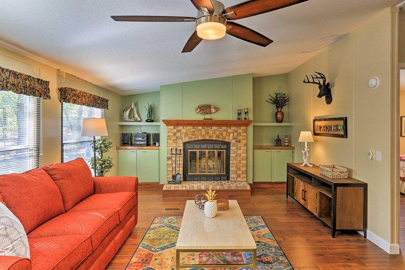 Ontsnap naar deze 3 slaapkamers, 2 badkamers vakantiewoning huis in Pottsboro.