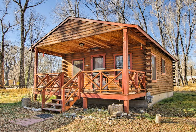 Get away from it all during your stay at this secluded 1-bedroom, 1-bathroom vacation rental in Buena Vista!