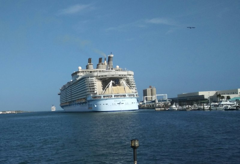 Cruise Ships departing nearby Port Canaveral.
