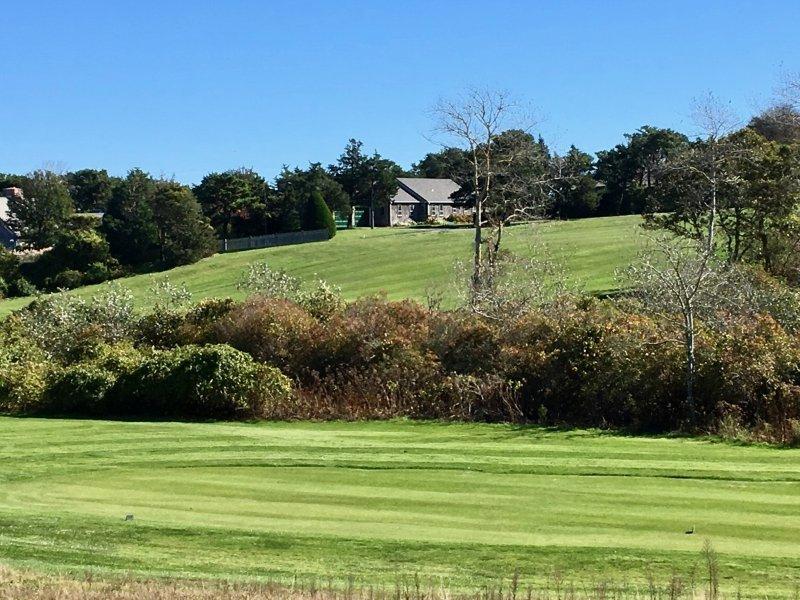 Aquí está la casa del tercer hoyo verde en Seaside Links