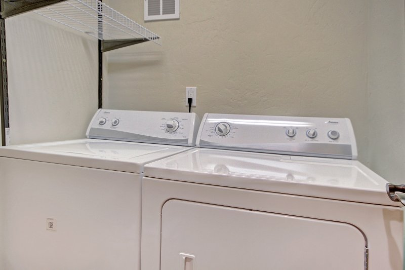 Laundry Room - Enjoy the convenience of the in-unit washer and dryer.
