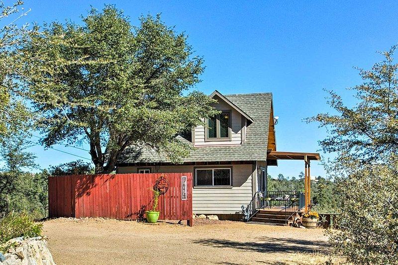 avventura all'aria aperta vi aspetta quando si soggiornare in questa casa accogliente a Prescott.
