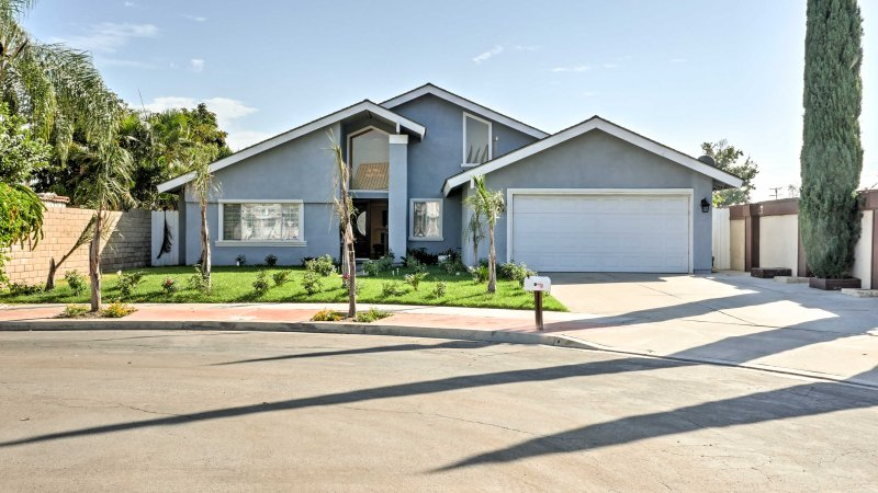 Your Orange County getaway awaits at this Fountain Valley vacation rental house!
