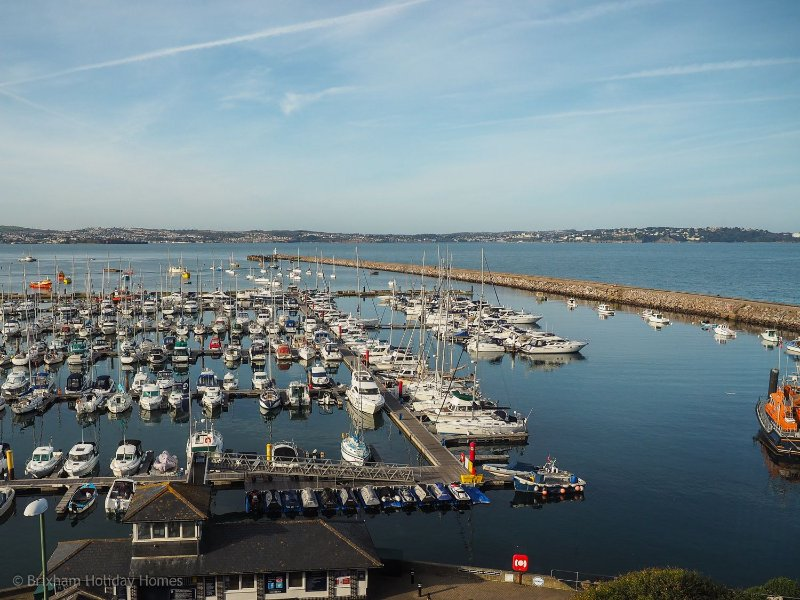 Penny Steps - A large Victorian family home with spectacular marina & bay views,, vacation rental in Brixham
