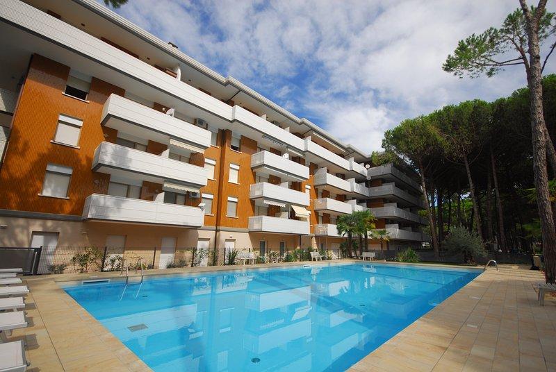 Residence Schubert B2, holiday rental in Lignano Riviera