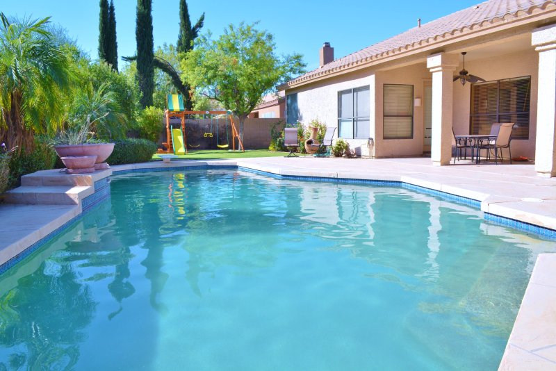 Amazing home with beautiful pool, perfect for a family getaway!