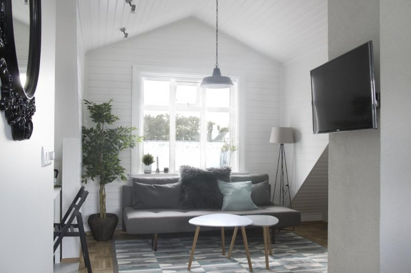 City Center studio loft apartment, vacation rental in Seltjarnarnes