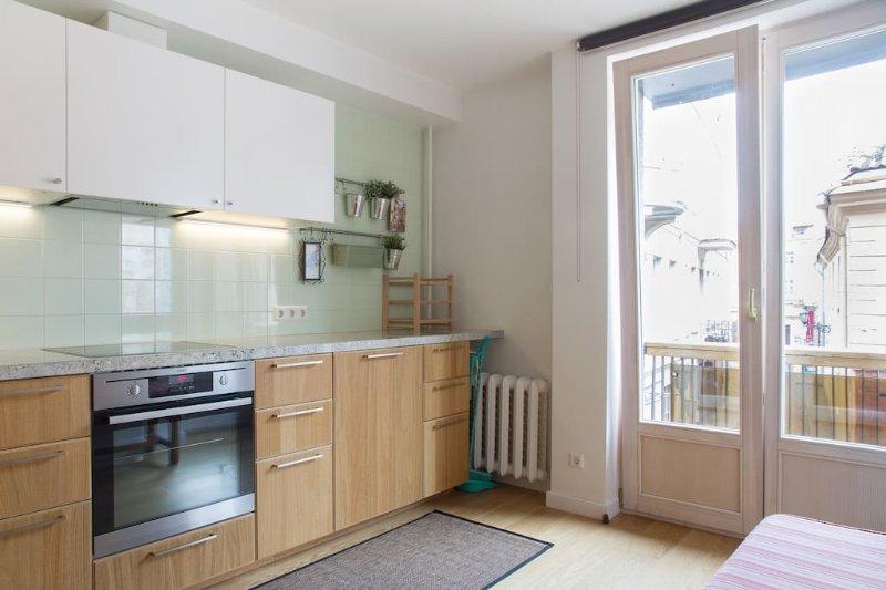 Two-bedroom apartment in Pilies str, aluguéis de temporada em Condado de Vilnius