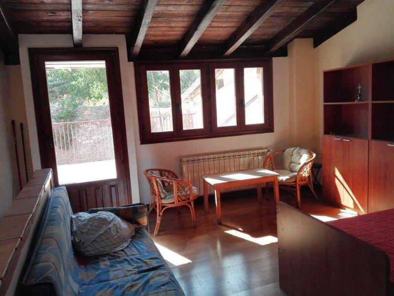 På övervåningen lounge
