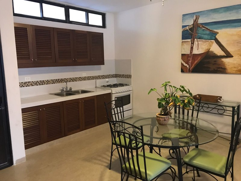 Dining room.and kitchen