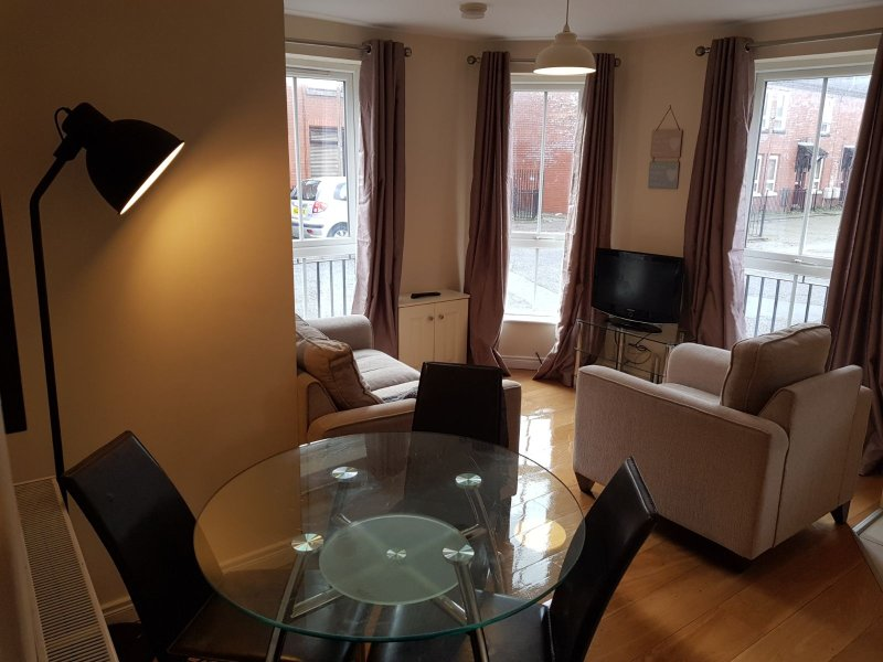 Modern 1 Bed Ground Floor Apartment, holiday rental in Holywood