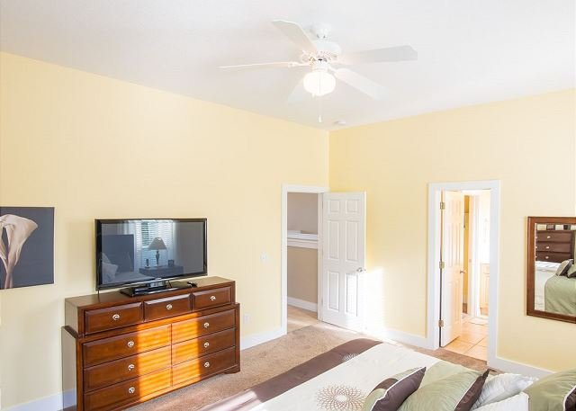 Master Bedroom with T.V.