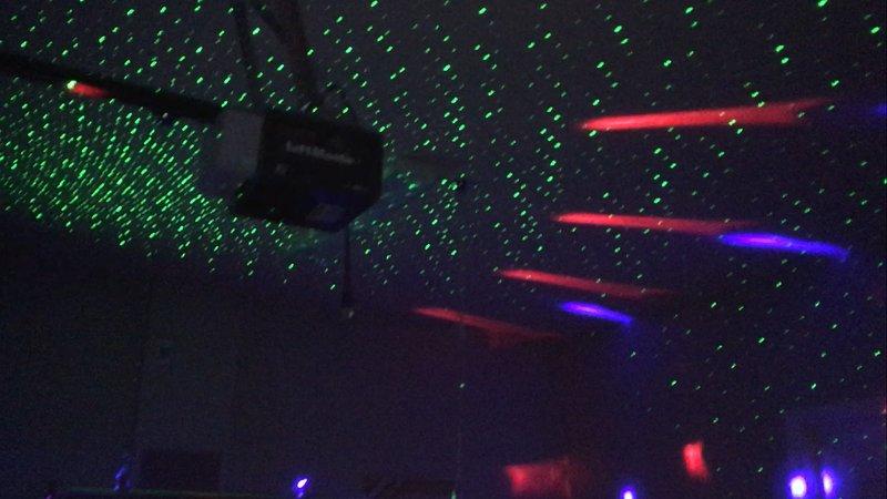 Game Room DJ Lights