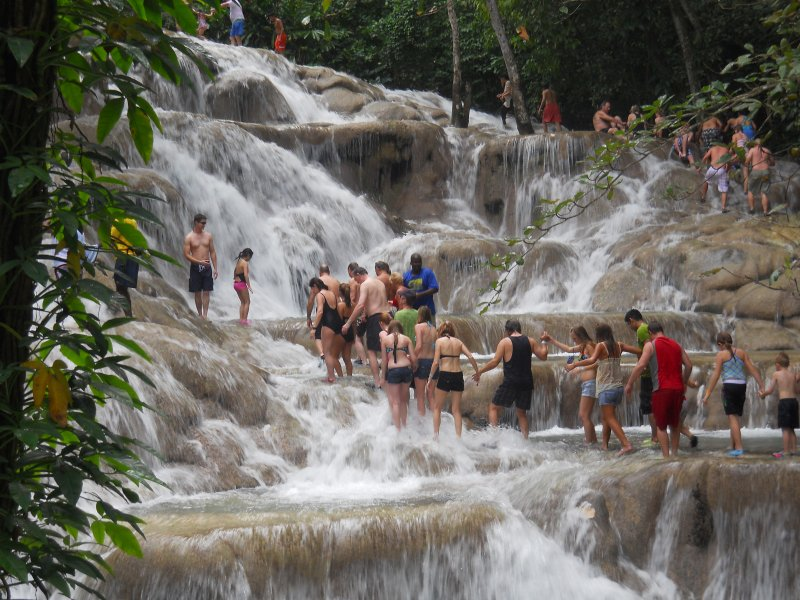 Dunns River Fall, Ocho Rios, only 15 minutes from Coolshade Villa