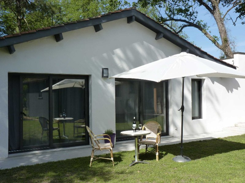 Cottage # 1 met eigen tuin