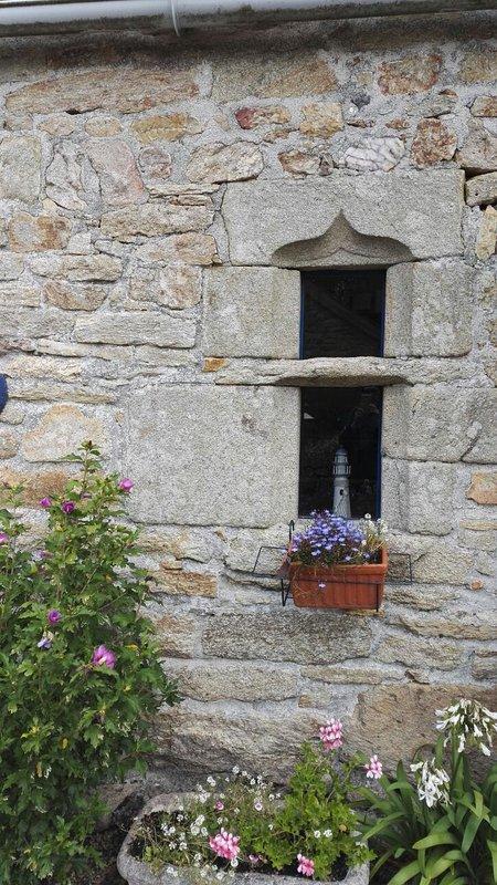 gotisch raam beschikt dateert uit de 15e / 16e eeuw