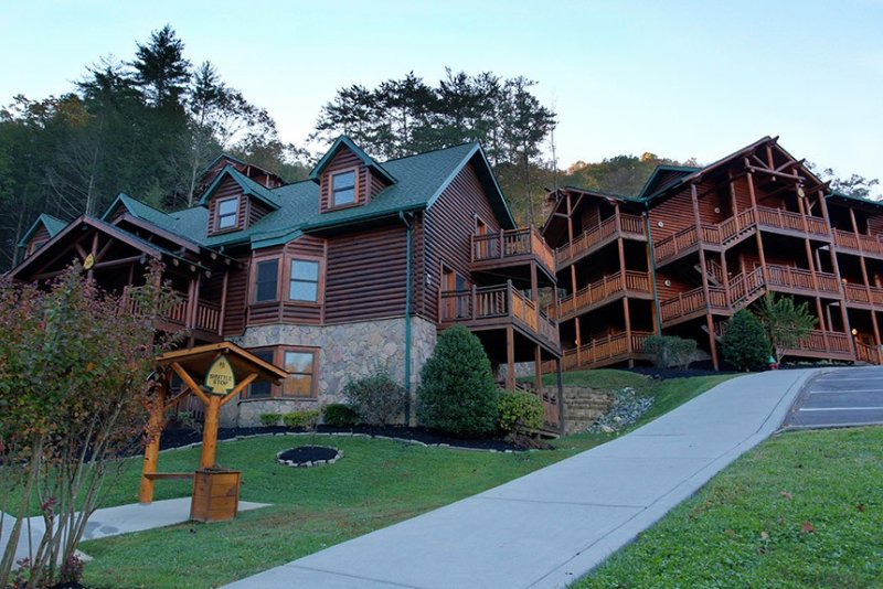 Westgate Smoky Mtn. Villas. Beautifully rustic.