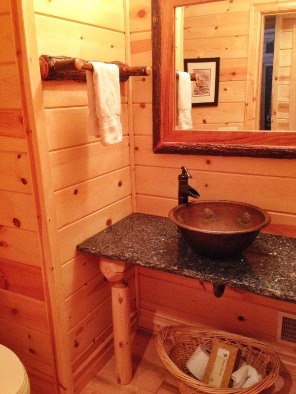 En la planta baja medio baño