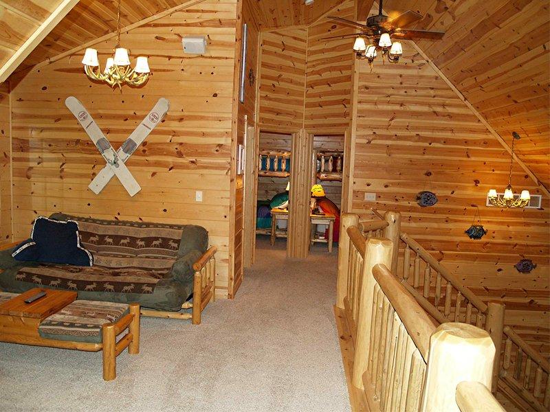 Loft con futón tamaño completo