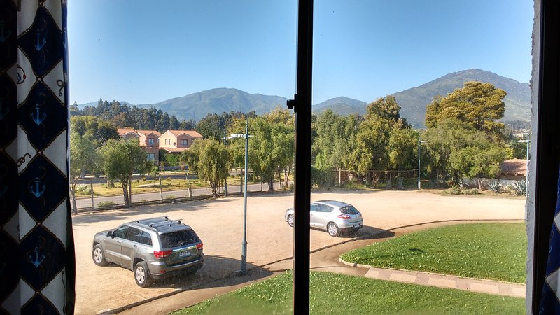 View from Bedroom 2. nearby garage. And also visits to availability.