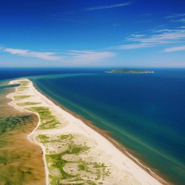 más cercano a la casa de Sandy Hook Beach vista aérea