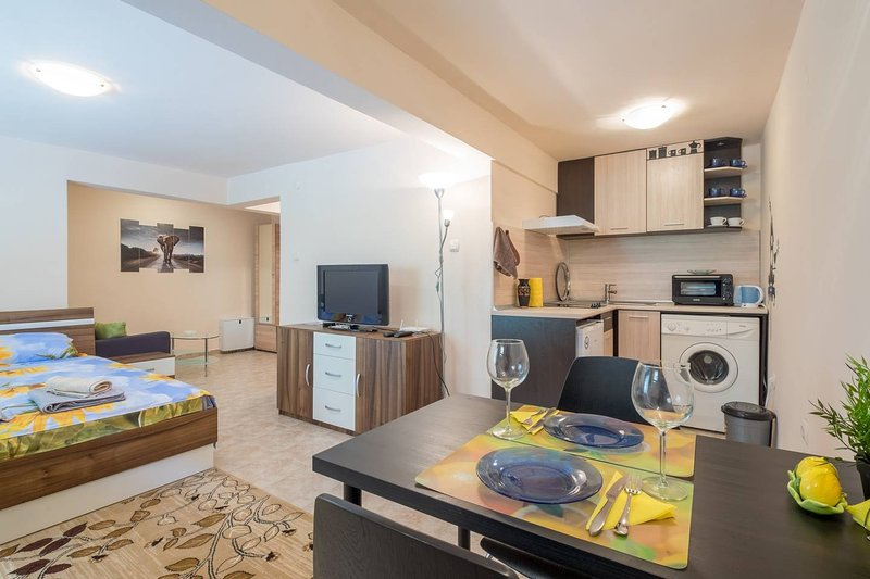 Brand New Charming & Comfy Studio in Sofia Center, Close to Everything You Need, holiday rental in German