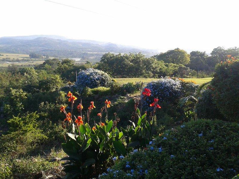 Mountain valley view