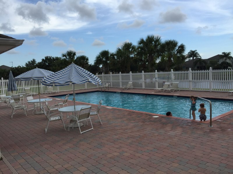 Heated Community pool just steps away from Villa