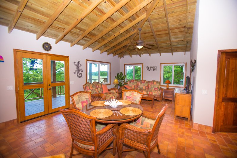 Open living area with great views